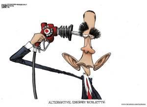 Obama cartoon by Michael Remirez