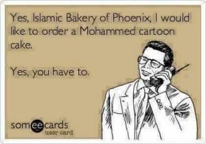 Muhammad Cake order
