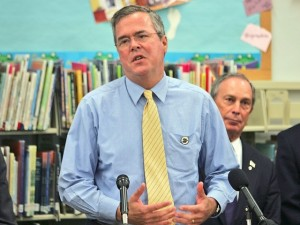 Jeb-Bush-Michael-Bloomberg-education-AP-640x480