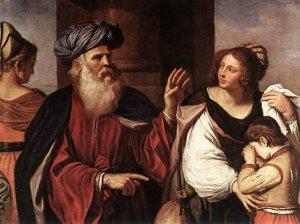 Abraham casts out Hagar and Ishamel
