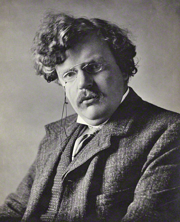 Gilbert_Chesterton By Ernest Herbert Mills - National Portrait Gallery