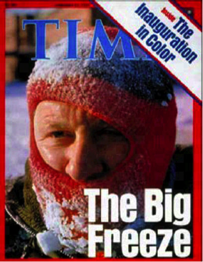 Time Magazine Jan 31 1977 Freeze