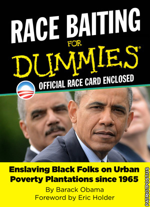Obama Race Baiting for Dummies