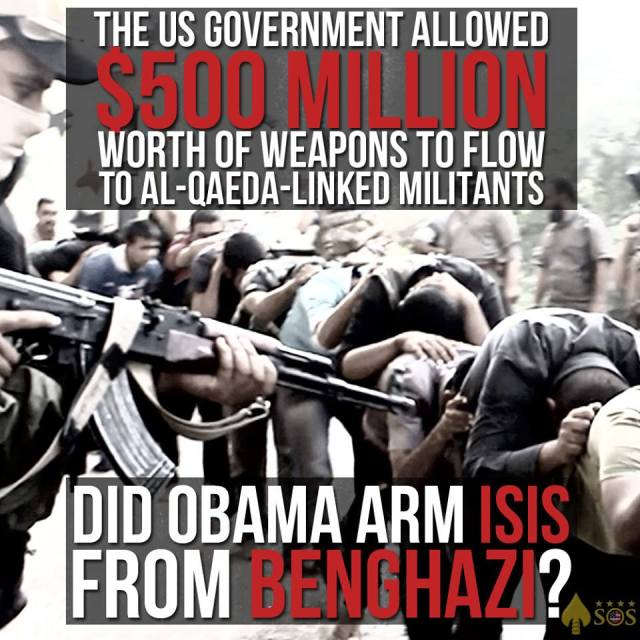 Did Obama arm ISIS from Benghazi