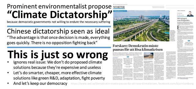 climate dictatorship