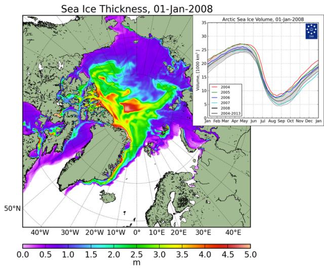 Arctic Ice 2008