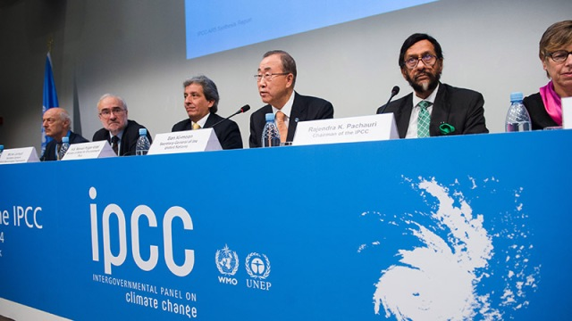 Press Conference at the Launch of the IPCC Synthesis Report