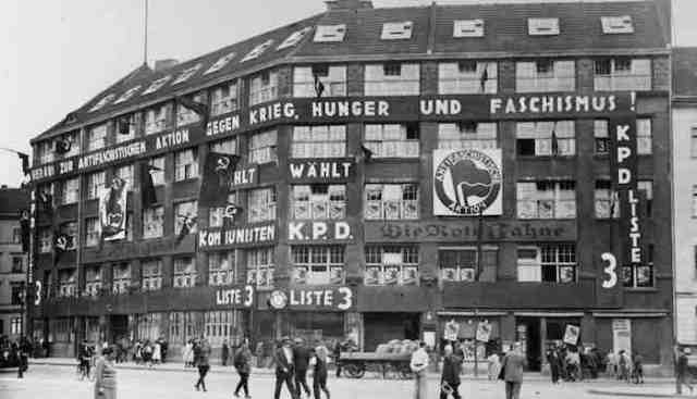 Antifa HQ 1932-1933 Germany