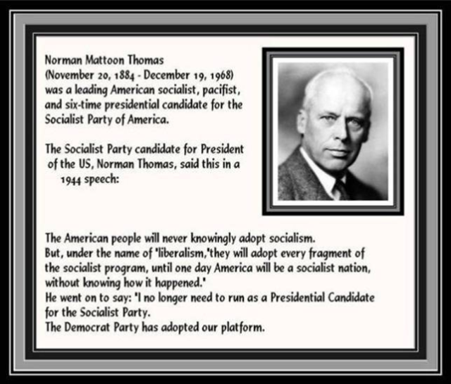 Norman Thomas_Socialist Party
