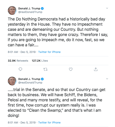 Screenshot_2019-12-07 Trump Therefore I say, if you are going to impeach me, do it now…
